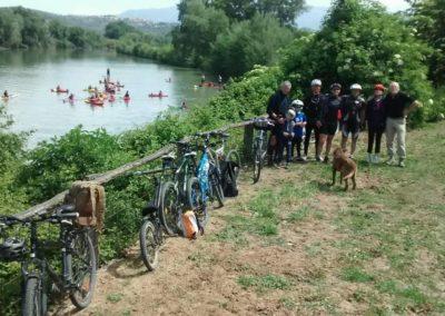 bici e canoa